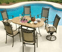 Agio patio outdoor table