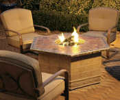 Homecrest patio embers firepit
