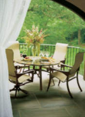 ... Stone Tabletop From Homecrest. Homecrest Furniture Homecrest Patio Table,  Homecrest Patio Table