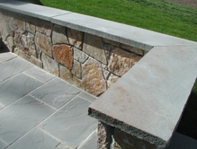 bluestone bench