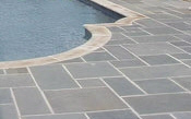pool deck - pennsylvania bluestone