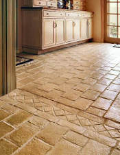 concrete tile kitchen floor