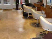 honed limestone marble floor