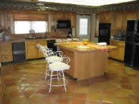 Mexican Saltillo Tile kitchen