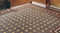 quarry tile floor design