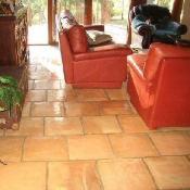 french terracotta rustic terracotta tile floor