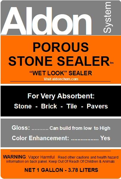 Porous Stone Sealer By Aldon For Stone Brick Slate All