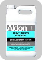 Removes grout stains from surfaces